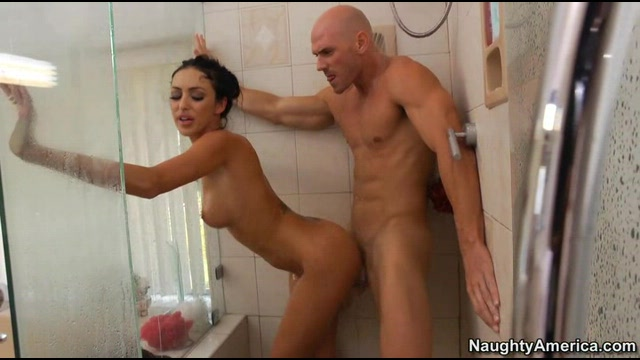Yenier and marcello bellano in the shower room of an old factory, a gay porn by cazzoimage