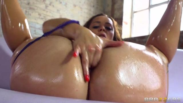 Abigail Lust Gets Her Big Booty Plowed