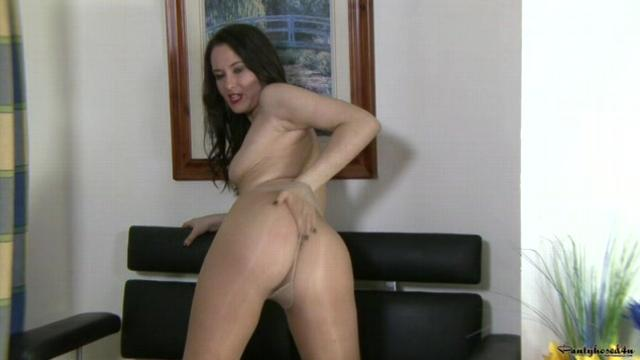 Lonely Girl With Pantyhose
