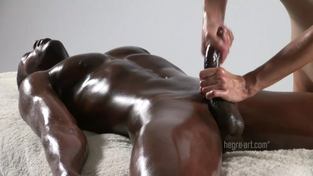 Young Guys Use Plenty Of Oil