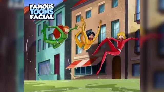 Totally Spies Clover Sex - Famous Toons Facial|4 мин.