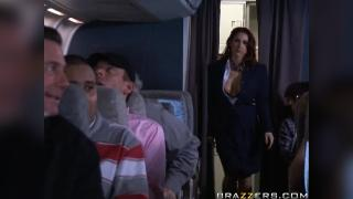 Tits On A Plane Part 1