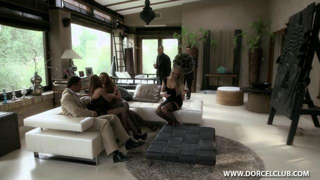 Cathy Heaven, Abbie Cat, Kayla Green - ORGY WITH LIBER