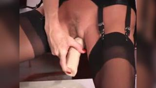 Mature Secretary At Her Desk In The Office PART 3