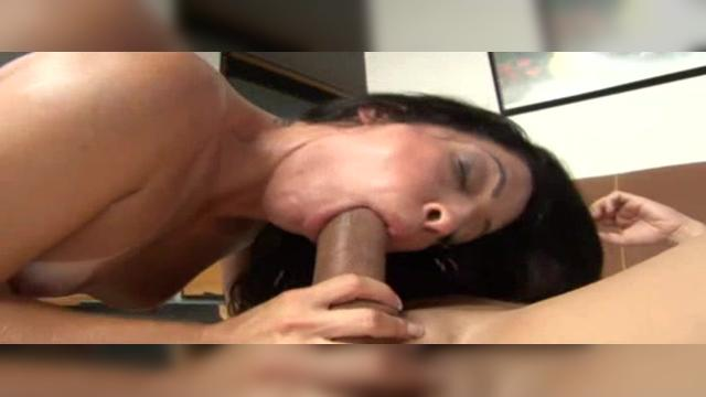 Watch as cute little Monica Santhiago has to open her mouth real wide