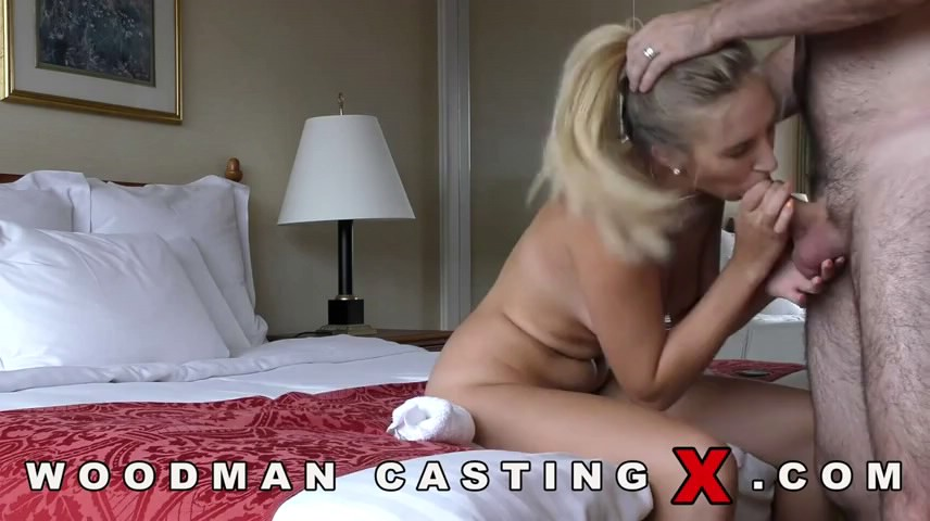 Blonde Babe Blair Williams Sucks His Cock And Enjoys Anal Woodman Casting X 1
