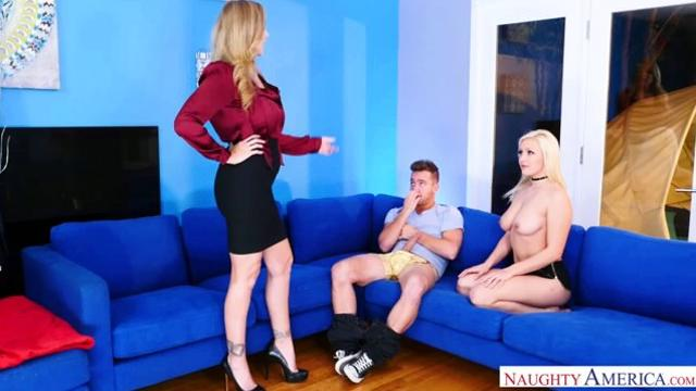 Naughty America Julia Ann and Kylie Page....