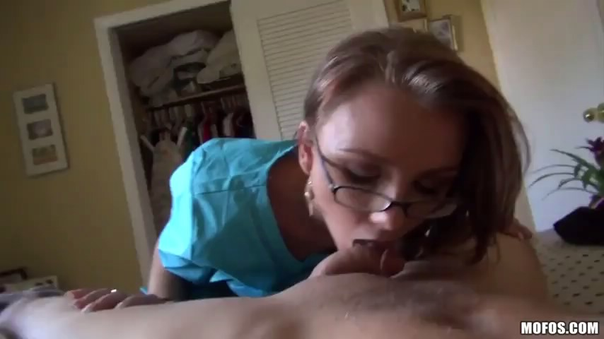 Sexy mom in glasses carrie ann gets her hole pounded on the office table