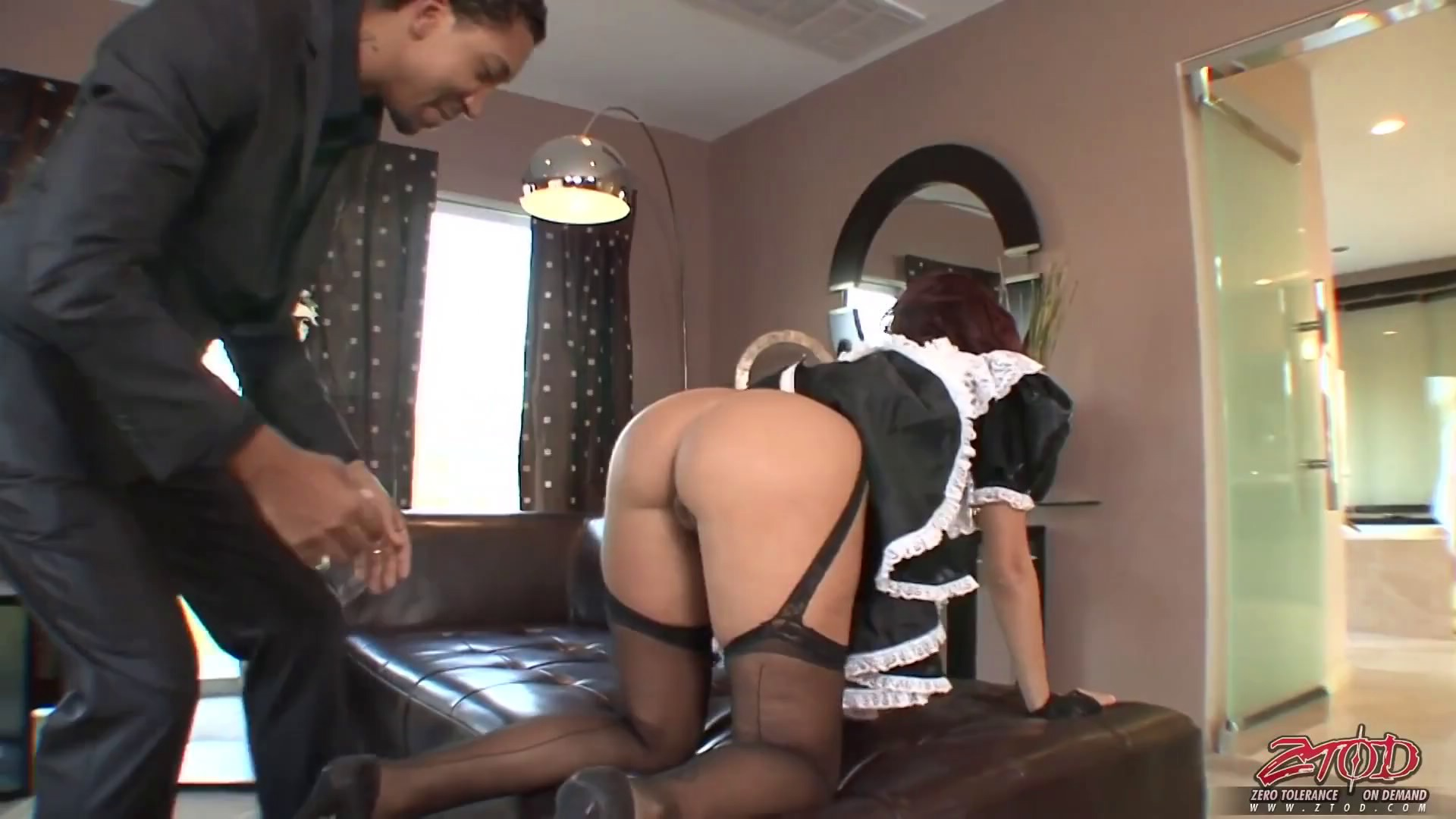 Maids fuck guest homemade video